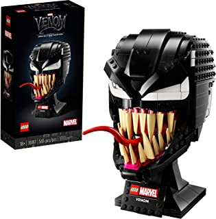 LEGO Marvel Spider-Man Venom 76187 Collectible Building Kit for-Adults Venom-Mask, Great for Spider-Man Fans, Marvel Movie Watchers and Model-Building Enthusiasts, New 2021 (565 Pieces)