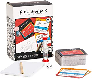 Paladone FRIENDS TV Show Quiz Act or Draw Game - Officially Licensed FRIENDS Merchandise