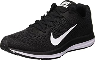 Nike Australia Men's Zoom Winflo 5 Running Shoes, Black/White-Anthracite