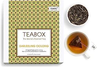Teabox Fresh Darjeeling Oolong Tea   WEIGHTLOSS, SLIMMIMG TEA   Box of 16 Tea Bags