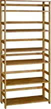 Regency Flip Flop 67-inch High Folding Bookcase- Medium Oak