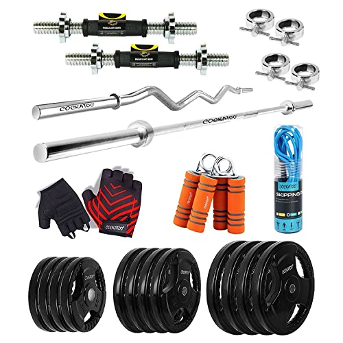 Magnificent 50Kg Gym Set Buy 50Kg Gym Set Online At Best Prices In Gmtry Best Dining Table And Chair Ideas Images Gmtryco