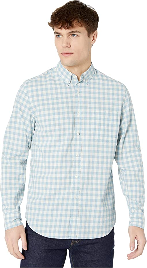 Van Buren Gingham Heather Seaport