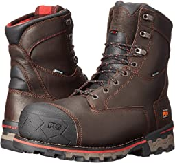 "Timberland PRO 8"" Boondock 1000g Composite Safety Toe Waterproof Insulated"