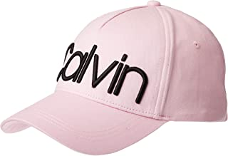 Calvin Klein Jeans Women's CALVIN CAP Hats, Pink (Clear Pink TEA), One Size