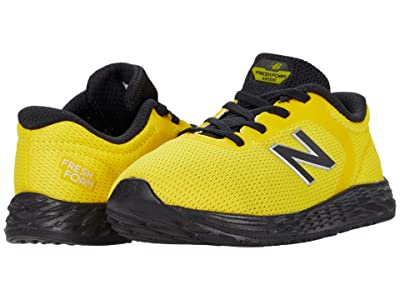 New Balance Kids Fresh Foam Arishi v2 Bungee (Infant/Toddler) (Atomic Yellow/Black) Boy