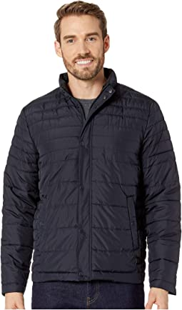 Horizontal Basic Puffer Jacket