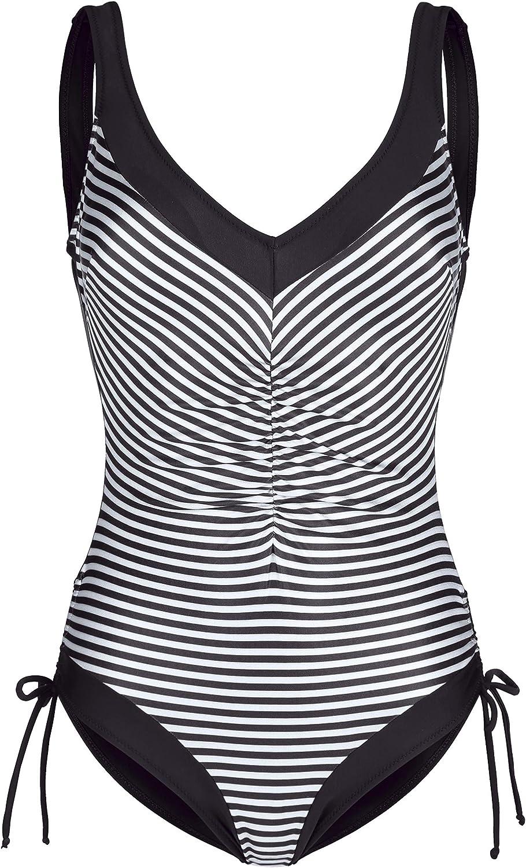 Maritim Damen Badeanzug mit seitlich verstellbarem Beinausschnitt 42 B07NGFTZBS  Gutes Design