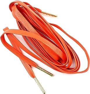 Flat Sheepskin Leather Shoelaces 1/4