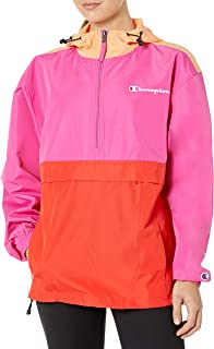 Champion Womens J1016 Packable Jacket - Color Blocked Jacket - Multi