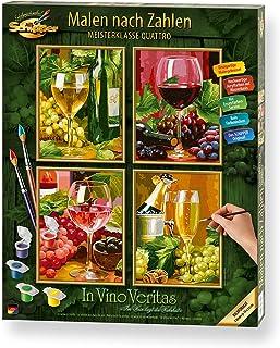 Malen nach Zahlen - In Vino Veritas (Quattro): Im Wein liegt die Wahrheit