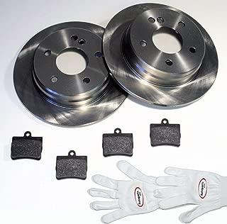 Autoparts-Online Set 60012535 Bremsbel/äge//Bremskl/ötze//Bremsen f/ür Vorne Hinten