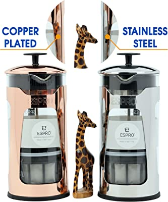 Amazon.com: Bredemeijer 1,5 Copa, cobre, French Press ...