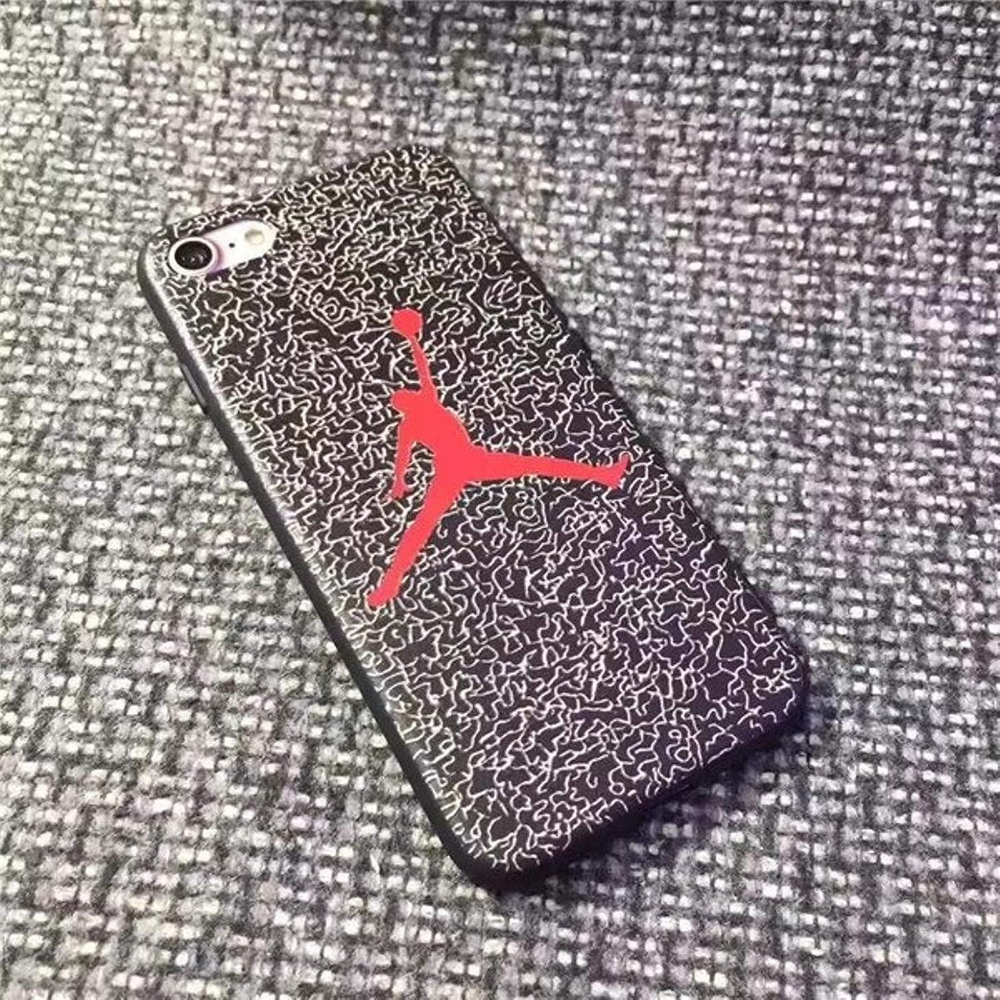 Best Air Jordan Phone Case for iPhone 6 6s 7 8 Plus iPhone X XR XS Max Matte Soft TPU Silicone Cover (for iPhone Xs) (for 7 Plus 8 Plus)