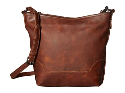 Frye Melissa Small Hobo (Cognac) Handbags