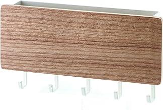 YAMAZAKI home Rin Magnetic Key Rack with Tray, Beige