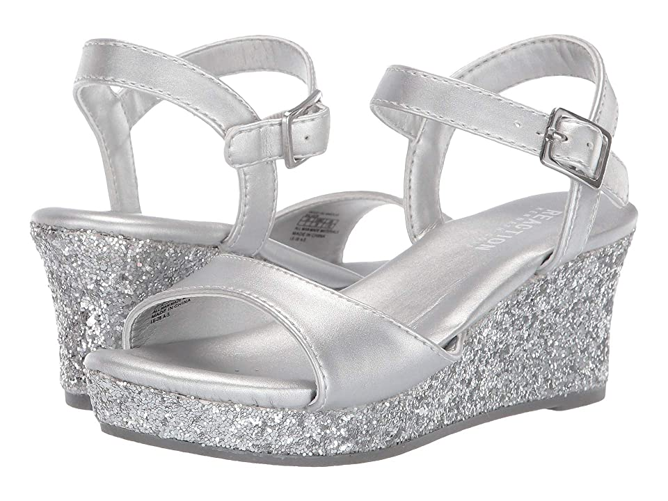 Kenneth Cole Reaction Kids Reed Glamour (Little Kid/Big Kid) (Silver) Girl