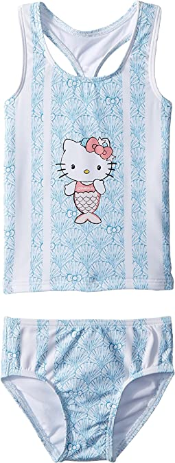 Hello Kitty® Shelly Mermaid Tankini Swim Set (Toddler/Little Kids)