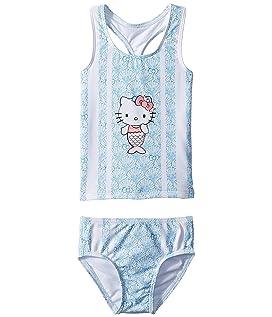 Hello Kitty® Shelly Mermaid Tankini Swim Set (Toddler/Little Kids)