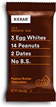 RXBAR, Peanut Butter Chocolate, Protein Bar, 1.83 Ounce (Pack of 12), High Protein Snack, Gluten Free