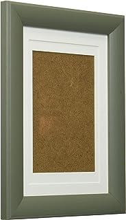 FUJICOLOR フォトフレーム スリーサイズフォトスタンド L / ハガキ / 2L グリーン 木製 501555