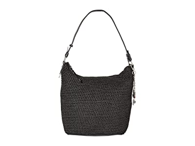 The Sak Sequoia Crochet Hobo (Black) Hobo Handbags