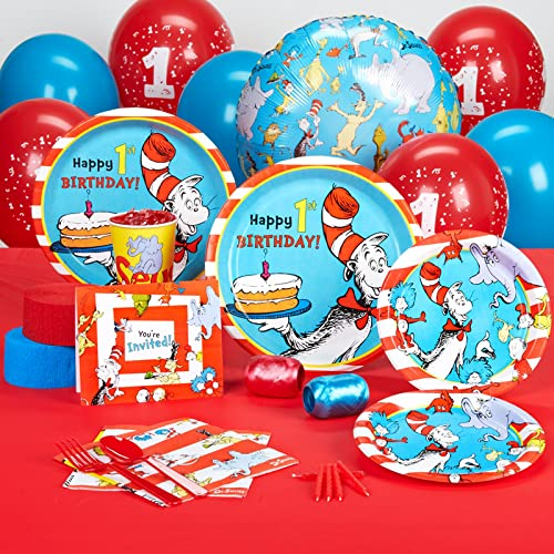 Dr Seuss 1st Birthday Party Supplies