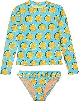 Aqua/Yellow