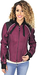 Harley-Davidson Womens Pink Label 3-in-1 Mesh Reflective Black Functional Jacket 98319-17VW