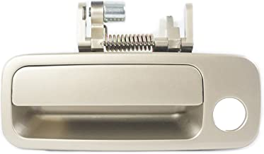 Sentinel Parts Front Left Driver Side Outside Door Handle 4M9 Cashmere Beige Gold for 1997-2001 Toyota Camry