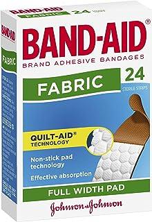 Band-Aid Adhesive Bandages Fabric 24