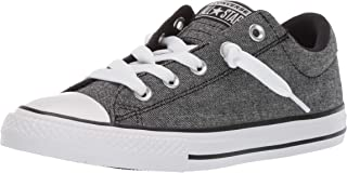 Converse Kids' Chuck Taylor All Star Street Knotted Laces Slip on Sneaker
