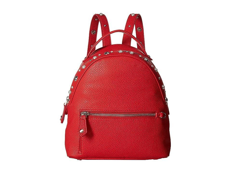 Sam Edelman Jess Pearls Studs Mini Backpack (Scarlett) Backpack Bags