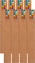 Corkboards Bulletin Board for Wall, 100% Natural Cork, Cork Boards for Hanging Notes Pictures, Strong Self-Adhesive Backin...
