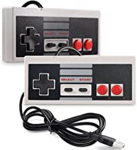 iNNEXT 2X USB NES/FC para Mando de Juegos para PC Mac Windows Raspberry Pi/RetroPie NES Emulator