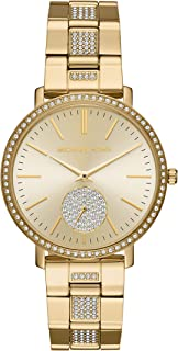 Michael Kors mk3811 Jaryn Pavé Glitz Gold-Tone Womens Watch