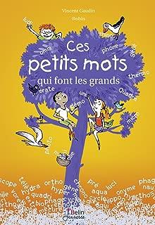Ces petits mots qui font les grands (BELIN JEUNESSE) (French Edition)