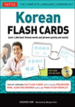 Korean Flash Cards Kit: Learn 1,000 Basic Korean Words and Phrases Quickly and Easily! (Hangul & Romanized Forms) (Audio-CD Included) PDF