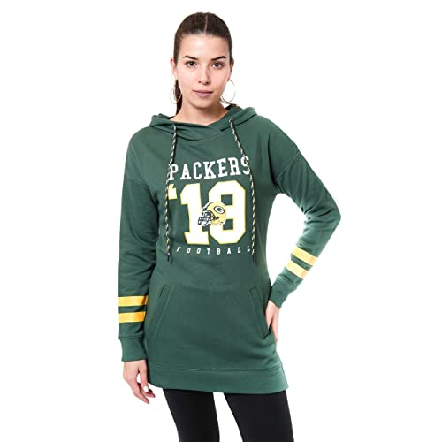 NFL Green Bay Packers Ultra Game Mens PULLOVER HOODIE Green X-Large