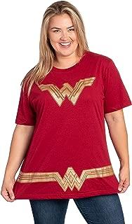 Best women's plus size wonder woman shirt Reviews