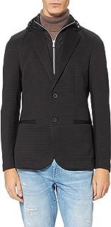 Armani Exchange Men's Hooded Casual Blazer
