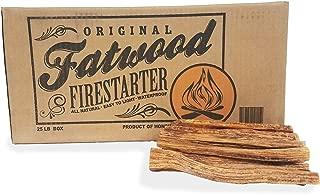 2405 Earth Worth | 25 Pound Box - Fatwood Firestarter