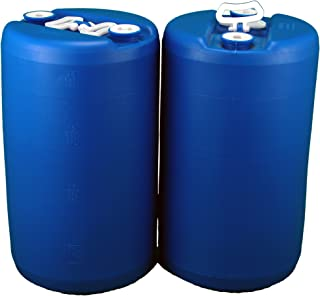 20 Gallon Emergency Water Storage Drum, 2 Pack, Blue - New! - Boxed!