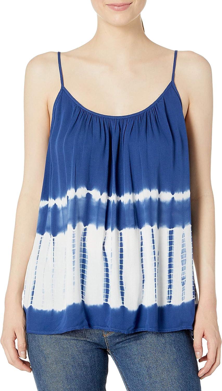 BB Dakota by Steve Madden womens Kaysen Tie Dye Print Tank Top