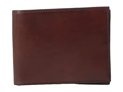 Bosca Old Leather Collection Executive ID Wallet (Dark Brown Leather) Bi-fold Wallet