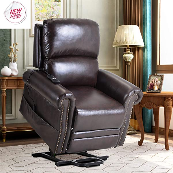 Lift Chairs For Elderly Lift Chairs Recliners Sofa Power Lift Chairs Electric Recliner Chairs With Remote Control Soft PU Lounge