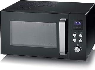 SEVERIN Solo Inverter MW 7757 Four à micro-ondes pour décongeler, cuire et chauffer, micro-ondes avec plateau tournant pou...