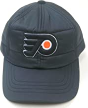 American Needle NHL Hockey Philadelphia Flyers Outdoorsman Black Cap Quilted with Corduroy Inside Lid