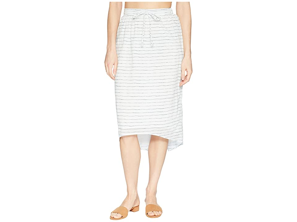 Carve Designs Cameron Skirt (White Water Stripe) Women