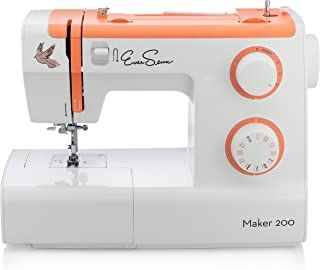 EverSewn Maker 200 - Mechanical Sewing Machine - Professional Grade: 23 Stitches, Stitch Width + Buttonhole - Great for Heavy Sewers